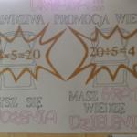 Wyróżniona praca nr 2 w konkursie tabliczka mnożenia
