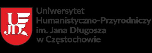 Logo UJD w Częstochowie
