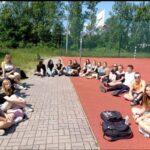 Zdjęcie nr 1 podczas zajęć z doradztwa zawodowego w ramach programu Erasmus+